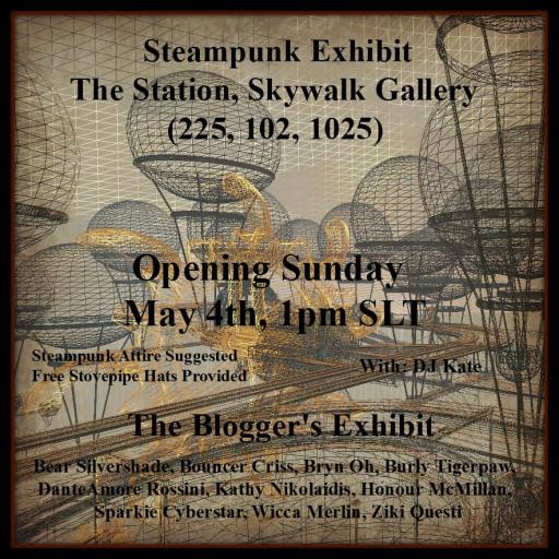 Steampunk Exhibit Poster